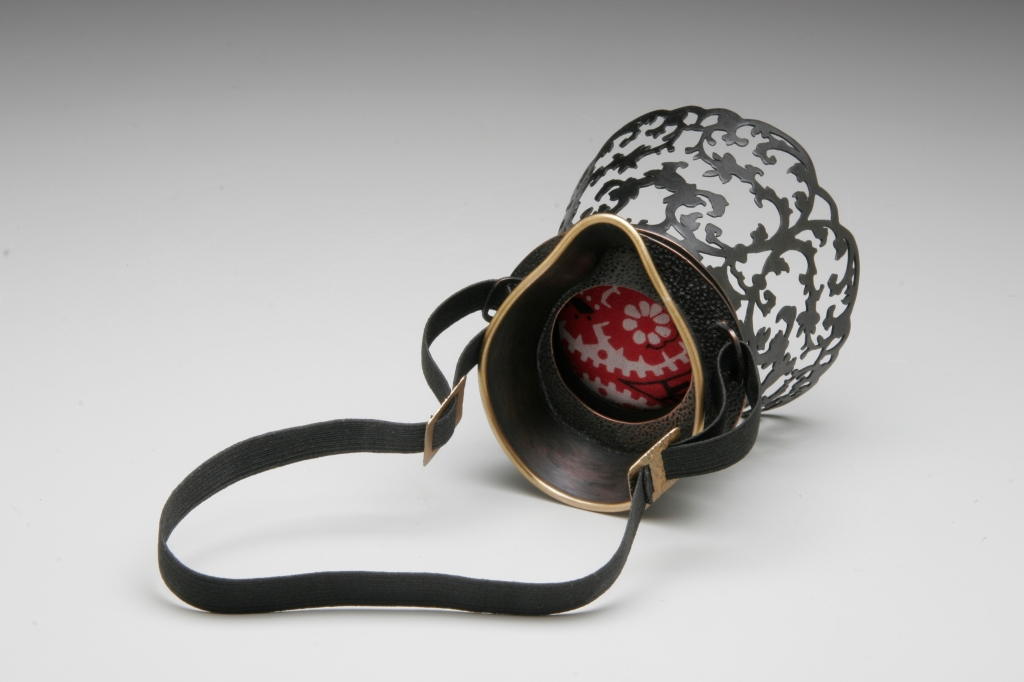 "Renee Zettle-Sterling - ""Objects of Mourning"" (2009-2010). Brooch"