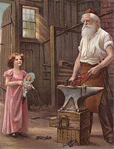 blacksmith santa