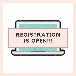 Registration Day is here!