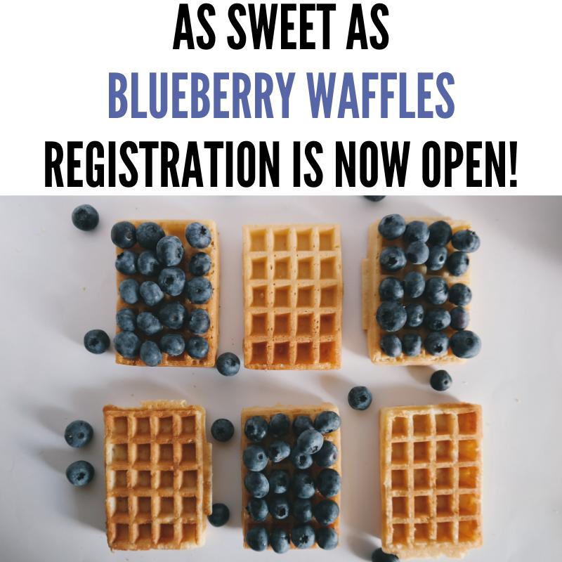 Yip Yip Hooray ! Registration is open