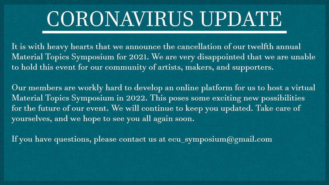 Symposium Cancel